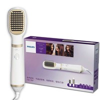 PHILIPS HP8663/13 Essential Care Styling Comb with Roll Straightener Negative Ion Care Straight Curly Hair Styling