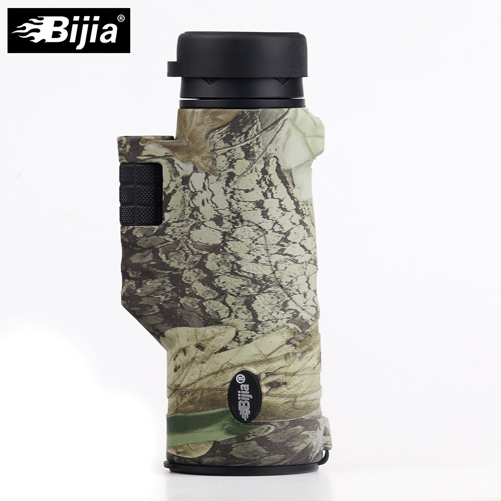 Drop Travel Colors Quality Telescope Shipping 10x42 Multi BAK4 Support Hunting Prism Coated 4 Bird Watching BIJIA Monocular High