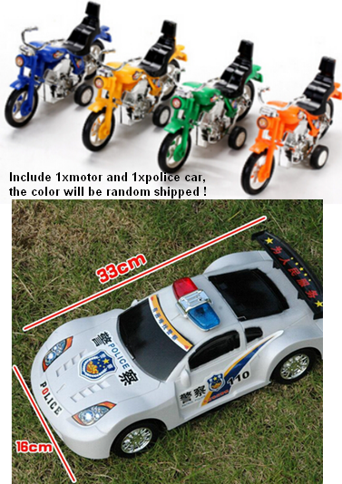 Vintage car toys mini plastic beach motorcycle police car model toy for kids pull back die cast cars educational toys for boys