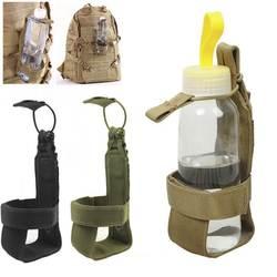 Портативный Открытый нейлон Путешествия сумка для бутылки Тактический бутылка для воды чехол нейлон Регулируемая волшебная лента военное