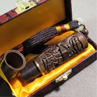 Good Quality Carving Enthusiasts Stamp Golden Ebony Material Carving Bare Chapter Name Cap Signature Stamp