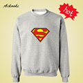 Superman Harajuku Sweatshirt Cute in Batman Super Man Mens Hoodies and Sweatshirts Hip Hop Boys Couples XXXL hoodie Men Aikooki