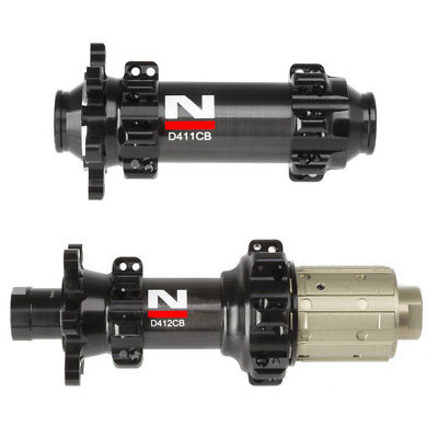 24/24H LIGHTEST NOVATEC CARBON COATING ROAD DISC BICYCLE HUBS BIKE HUBSET D411CB D412CB, BLACK, QR or THRU AXLE Version