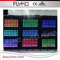 China suppiler led video curtain SD conyroller Dmx led stage backdrop