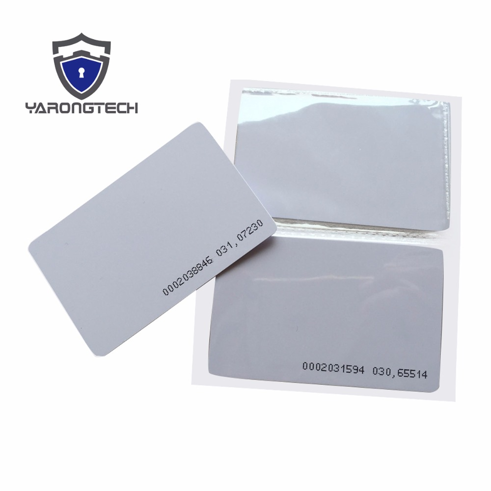 200pcs 125khz Rfid Proximity Cards Id Card Door Entry Access 08 Kinesio Tape Best Quality Kualitas Import 08mm