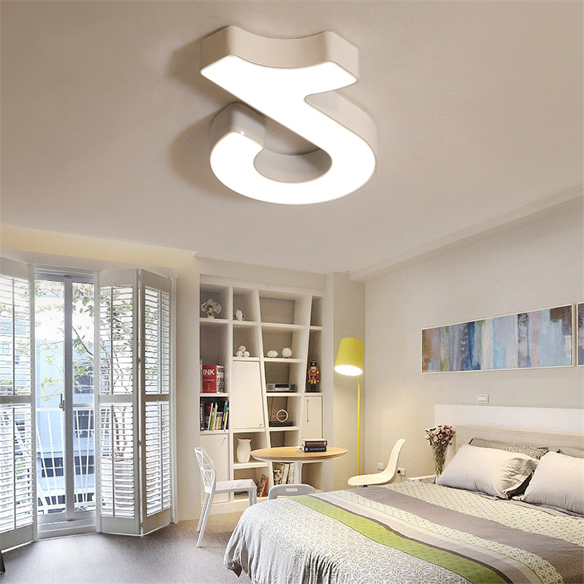 Modern Chandeliers LED Ceiling Lamps Bedroom Living Room Lighting Decoration Office Meeting Room Ceiling Lamp Gallery Luminaire in Ceiling Lights from Lights Lighting