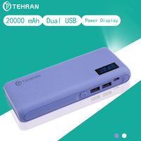 20000 MAh Real Capacity Big LED Flash Light External Battery Pack For Iphone 8 For Android