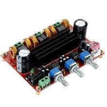 Marsnaska New Top Quality TPA3116D2 50Wx2 100W 2 1 Channel Digital Subwoofer Amplifier Board 12V 24V