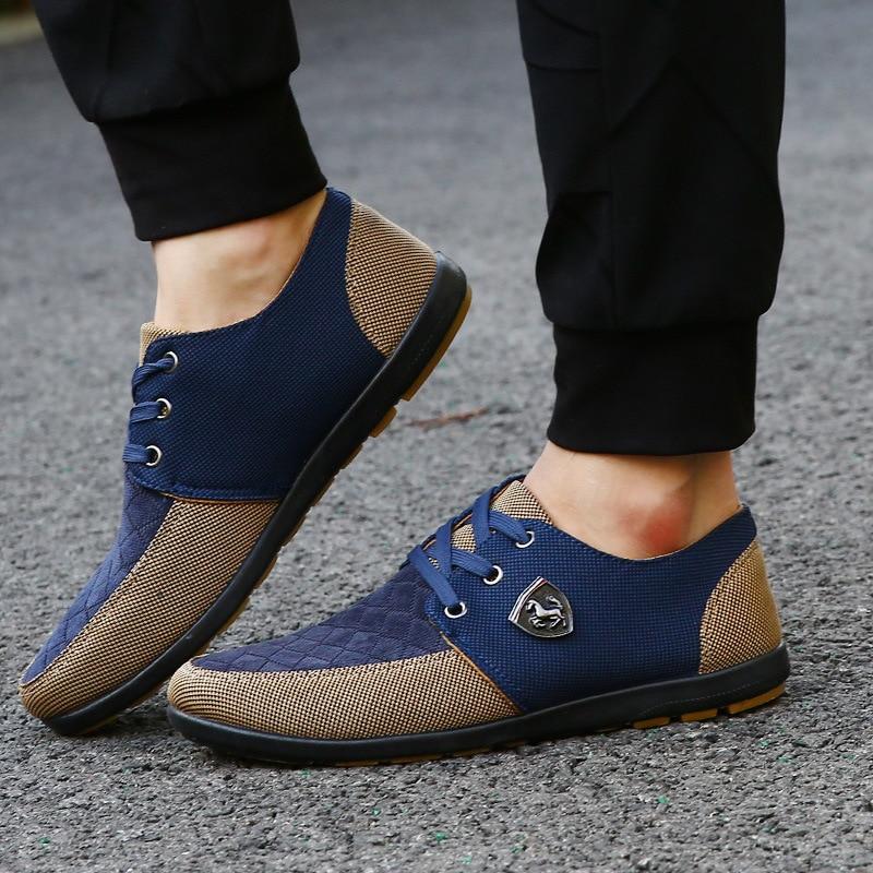 dark Respirant green blue Étudiants Blue Toile Chaussures Hommes Aider Printemps Pour Bas automne Sneakers Casual De Mode Ipccm Nouveau Lumière Les Dentelle Yellow 2018 zBAR1pRI