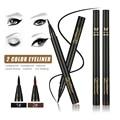 HuaMianLi-Charming Long Lasting Eyeliner Waterproof Quickdrying Smudge-Proof  Liquid Eye liner Cosmetic Makeup 2 Colors