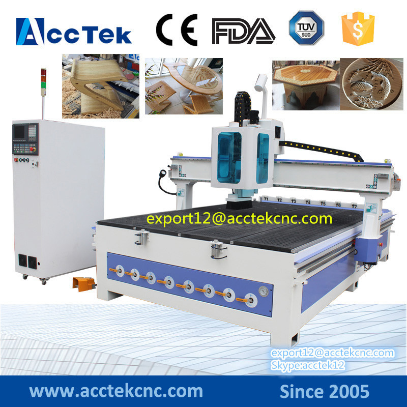 High Quatily 3D Wood Carving ATC CNC Router Machine Furniture Marking Equipment Auto Tool Change 3d Cnc Wood Carving Machine