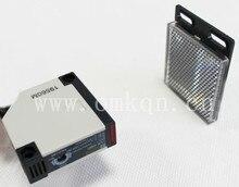 5 wire NO+NC reflector square photoelectric switch sensor E3JK-R4M1,AC or DC, photoelectric sensor,sensor