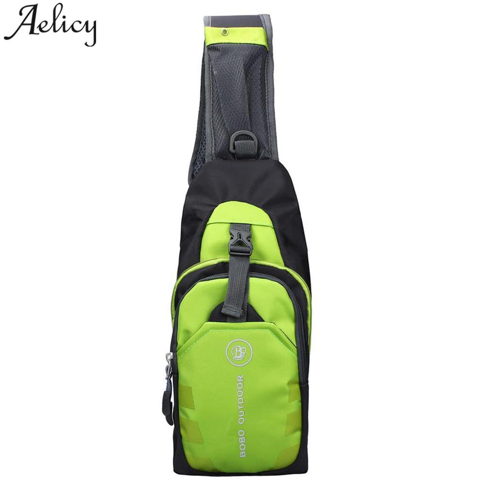 Aelicy High Quality Men Single Shoulder Cross Body Bag Vintage Military Travel Sling Rucksack Chest Back Pack Messenger Bags