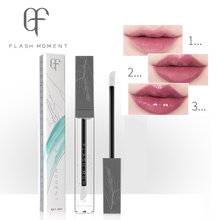 FlashMoment Moisturizer Plumper Lip Gloss Waterproof Transparent Lipgloss Makeup Clear Liquid Long Lasting