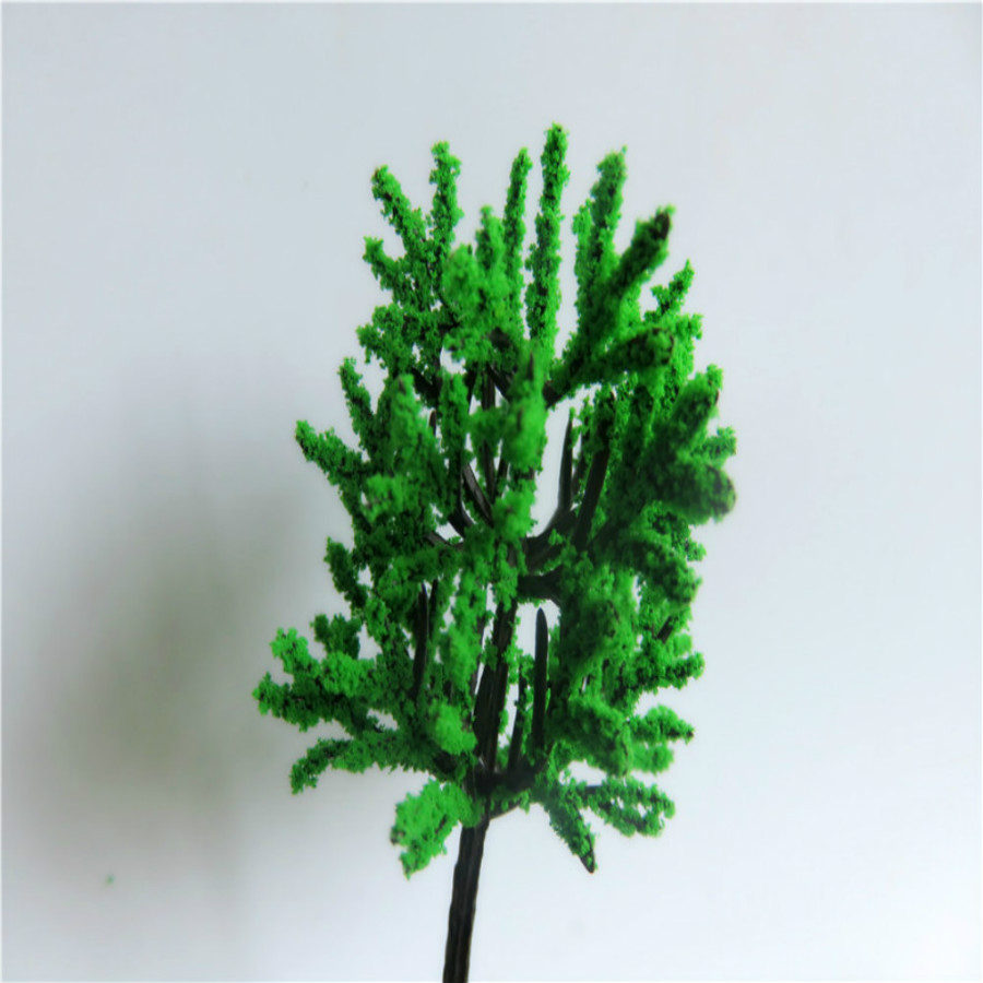 new architecture 3d scale artificial plastic model  green tree  layout268