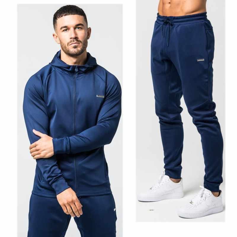 2018 брендовый спортивный костюм мужской теплый спортивный костюм с  капюшоном спортивный костюм Поло мужские спортивные костюмы 772c12ce9b3