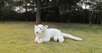 Mooie pluche witte tijger speelgoed simulatie hoge kwaliteit tijger pop gift over 110 cm 2758