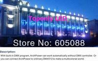Mejor 100 w IP65 impermeable led de alta potencia de las inundaciones lámpara Epistar rgb dmx 512