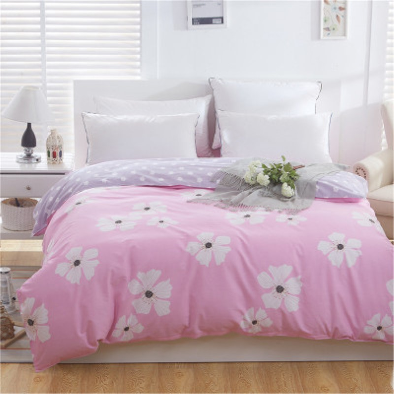 Buy Girls Hello Kitty Duvet Cover/Adults 100% Cotton Comfortable Flower Design Quilt Cover/Twin Queen King Brief Bedding for $30.17 in AliExpress store