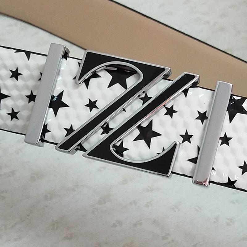 Fashion Stars belt men designers high quality luxury famous brand waistband genuine leather belt off white Cowskin Waist Strap