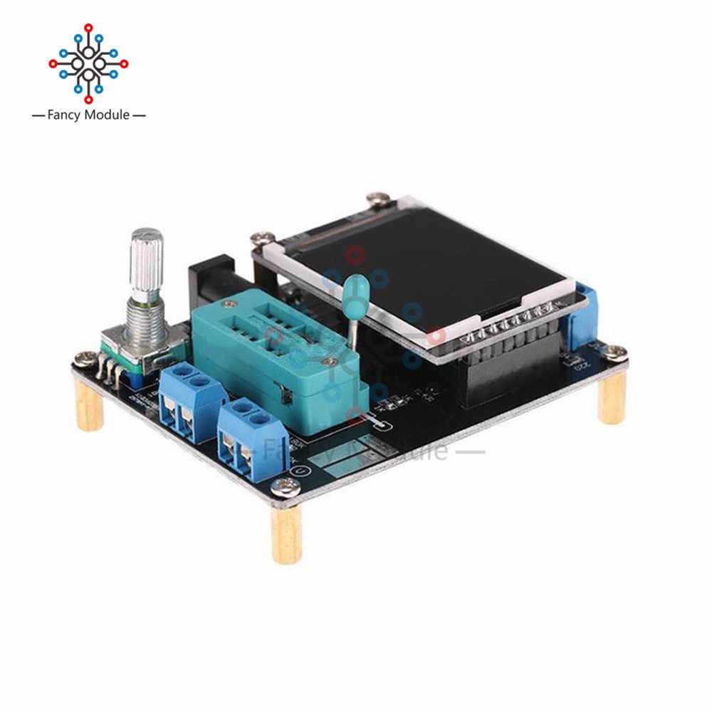 液晶esr GM328 トランジスタテスターダイオード容量電圧周波数pwm方形波信号発生器smtはんだメーター