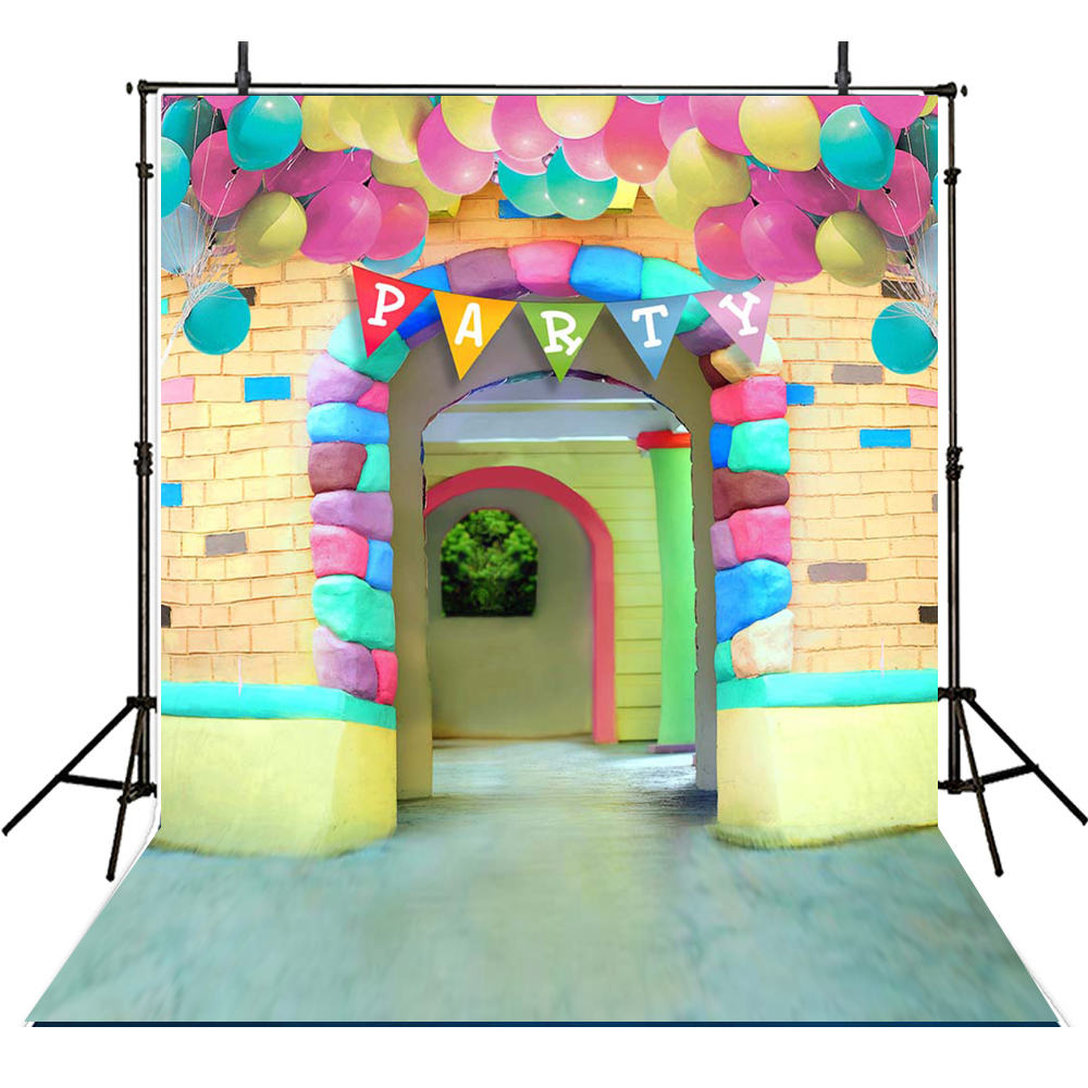 Children Party Photography Backdrops Kids Backdrop For Photography Birthday Background For Photo Studio Foto Achtergrond children photography backdrops clouds backdrop for photography girls background for photo studio balloons foto achtergrond