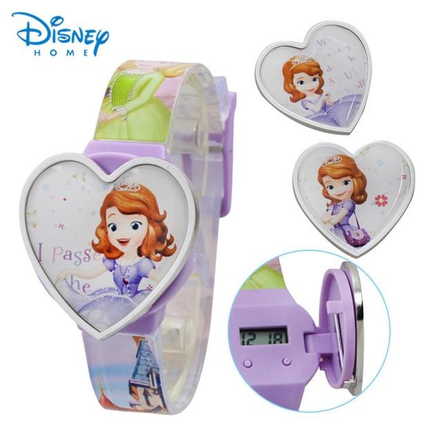Disney Digital Watch For Kids Children Watches For Girls DISNEY Princess Cindere