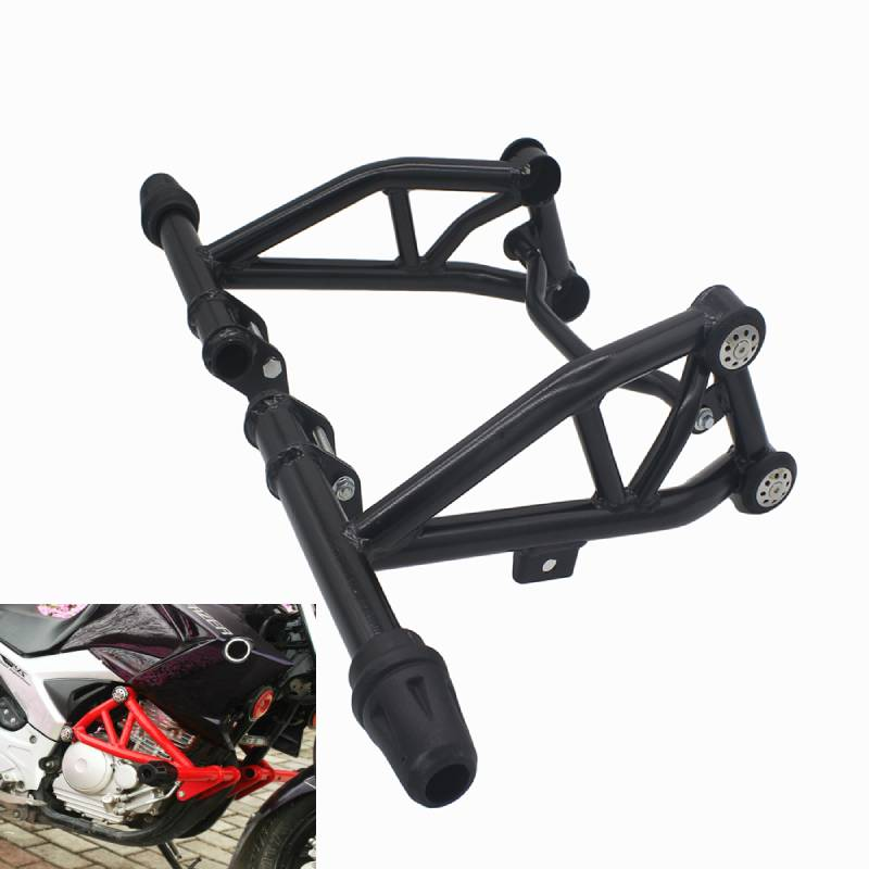 Competitive Bumper For Yamaha <font><b>Fazer</b></font> YS250 YBR <font><b>250</b></font> YS <font><b>250</b></font> Engine Protetive Guard Crash Bar Protector Front <font><b>Sliders</b></font> Guard Bar image