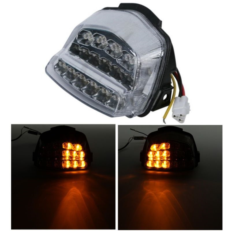 Integrated LED Rear Tail Light Turn Signals For Honda CBR1000RR 08 16 15 Motorcycle|  - title=