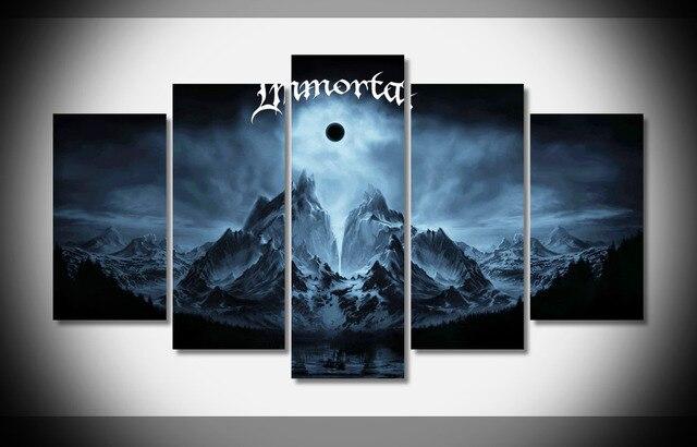 4815 inmortal negro metal pesado grupos bandas Hard Rock álbum cubre ...