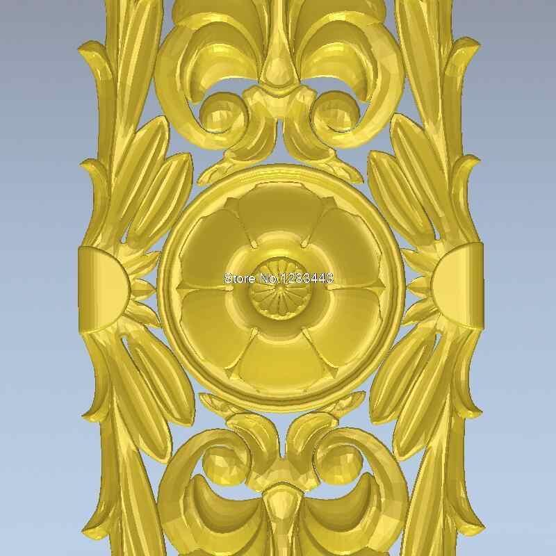 Hohe qualität Neue modell für cnc 3D möbel dekoration 3D geschnitzte abbildung skulptur maschine in stl Decor_109