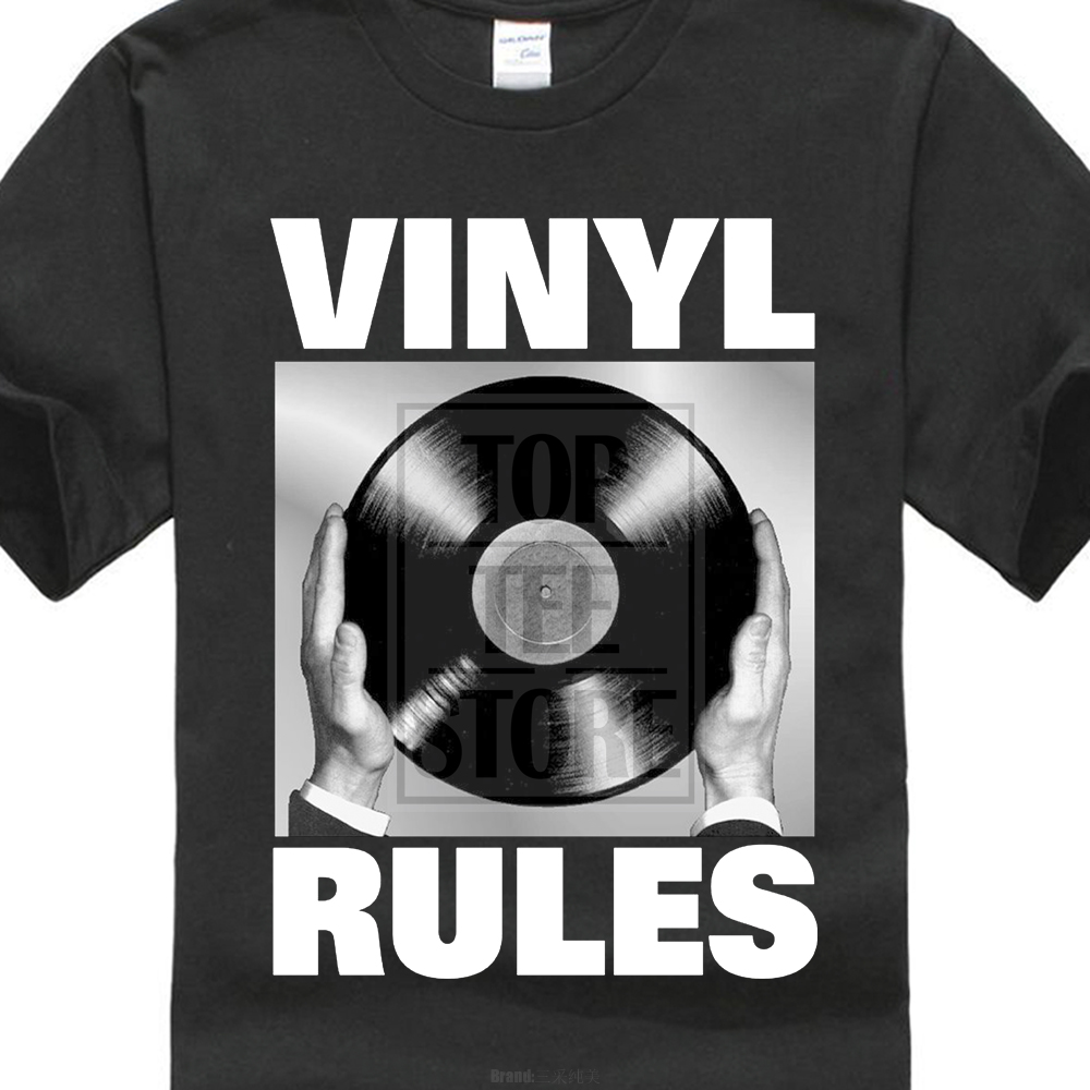 2017 New Product Musica Vinyl Rules Dj Nera 3d Printed T Shirts O