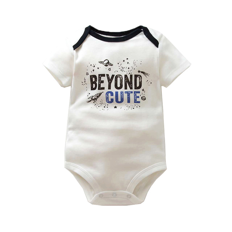 5 PCS/LOT Newborn Baby Rompers Cartoon Baby Unisex Jumpsuit 2018 Summer Infant Baby Clothing 100% Cotton Baby Boy Girls Clothes