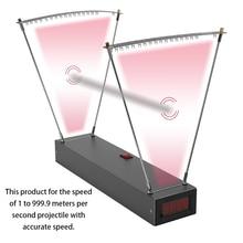 KKmoon Professional Aluminum Alloy Velocimetry Slingshot Speed Bow Velocity Measurement Tool Measuring Instrument Pro