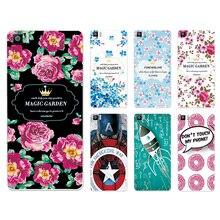 New Arrived Ample Flower Case Hard Plastic For BQ Aquaris M 5 M5 / BQ M5 M 5 Case Cover Fundas BQ M5+Free Gift