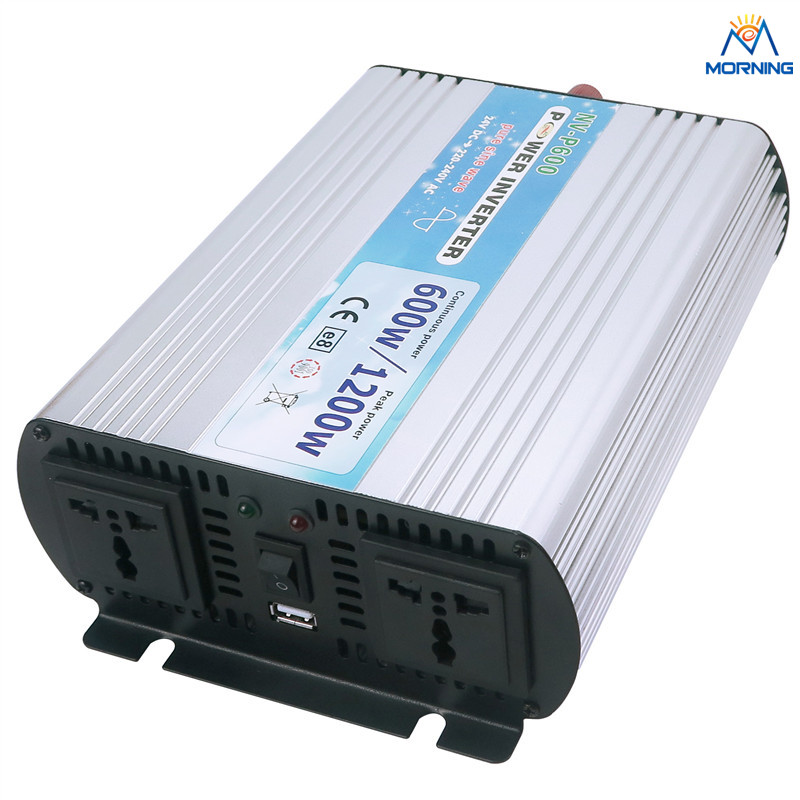 P600-121 600W 12V OFF-Grid Tie Micro Inverter DC12V TO AC110V for Solar Panel/Wind Power/Home Solar System 200w micro inverter wifi remote communication waterproof microinverter dc24v 45v to ac 220v 230v for 36v solar panel system