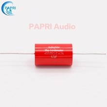 цена PAPRI 4.7UF 400VDC Axial MKP DIY Audio Grade Capacitor For HiFi Tube Guitar Amplifier  Lot/1PCS онлайн в 2017 году