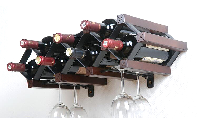 wine glass rack shelf. Unique Glass Wooden Wine Rack Bottle Holder Glass Shelf Wood Cup  Accessories Stand Wisky Wall X99in Racks From Home U0026 Garden  Intended V