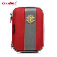 2.5inch Mobile hard disk case bag multi-functional Carry pocket for WD anti-pressure waterproof hard drive bag case HD003
