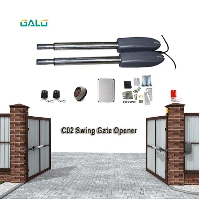 GALO best seller 400kg Heavy Duty Doppio parallelo Boom Battente Apri del Cancello Automatico del motore Aggiunto antigelo del liquido