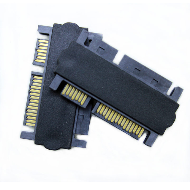 25 SATA 6Gb S Male Port To Card 35 HDD M Converter 22Pin Serial ATA 30 SSD Hard Drive CD ROM Data Adapter