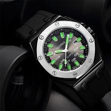 2019 top mens waterproof watches alloy case luxury brand watch men sport quartz outdoor luminous wristwatch led display цены