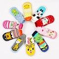 Малыш Нескользящие Пинетки Обувь Носки Мокасины Тапочки Длинные Детские Носки Детская Обувь