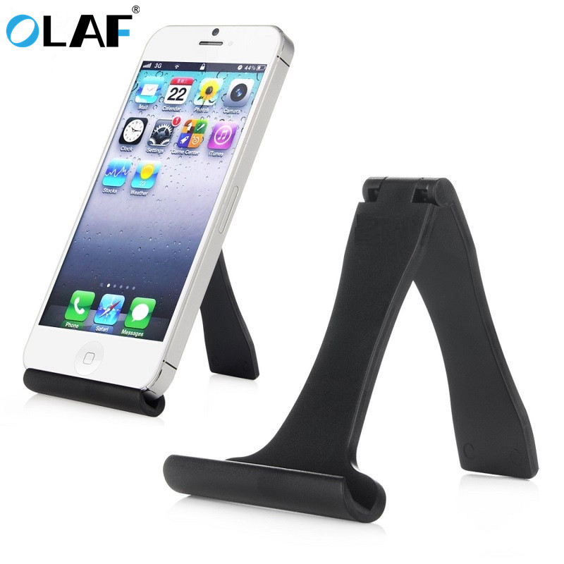 Universal Mobile Phone Stand Tablet Desk Flexible Stand Holder For IPhone 7 6 Plus 5C 5S 5 4S 4 Samsung Galaxy S7 S6 Mini HTC LG