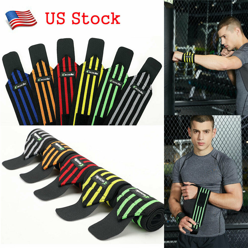 Sport Accessory Unisex Lift Strap Weight Bandage Fitness Support Wrist Wraps Gym Wrap Arm Sleeve