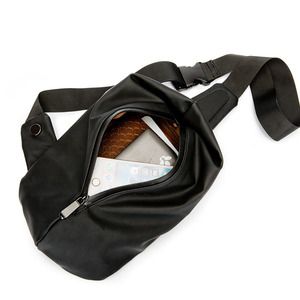 Image 5 - Waterproof Black Nylon Male Chest Bag Men Bags Sling Bag Satchel Yob Portable Slant Package Pack Travel Male Small Messenger Bag