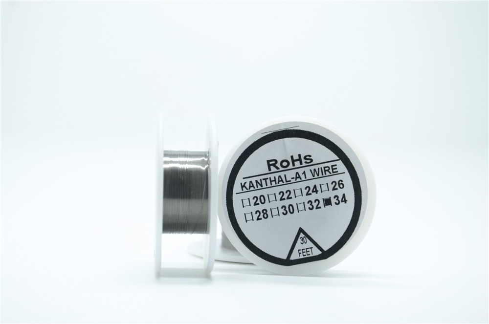 N series Nichrome wire 34 Gauge 30 FT 0 16mm Cantal Resistance font b Resistor b