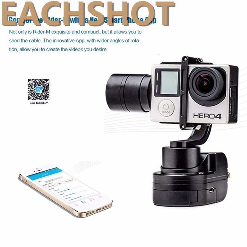 Zhiyun Z1 Rider M 3 axle Wearable Gimbal Stabilizer for GoPro Hero 3 Action Cameras