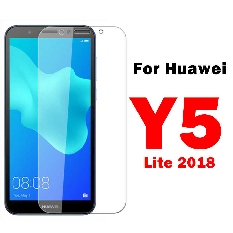 On For Huawei Y5 Lite 2018 Protective Glass Huaweii Y 5 Prime  Y 5 2019 Light Y5 ii Y6  5y 6y Lighted Y5ii Hauwei Safety Glass
