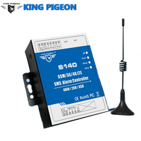 King Pigeon GSM 3G 4G SMS Alarm Controller Automatic Water Level Tank Pump Controller S140